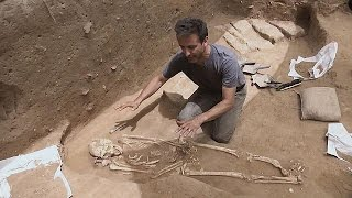 Un cimetière livre les secrets du peuple de Goliath - science