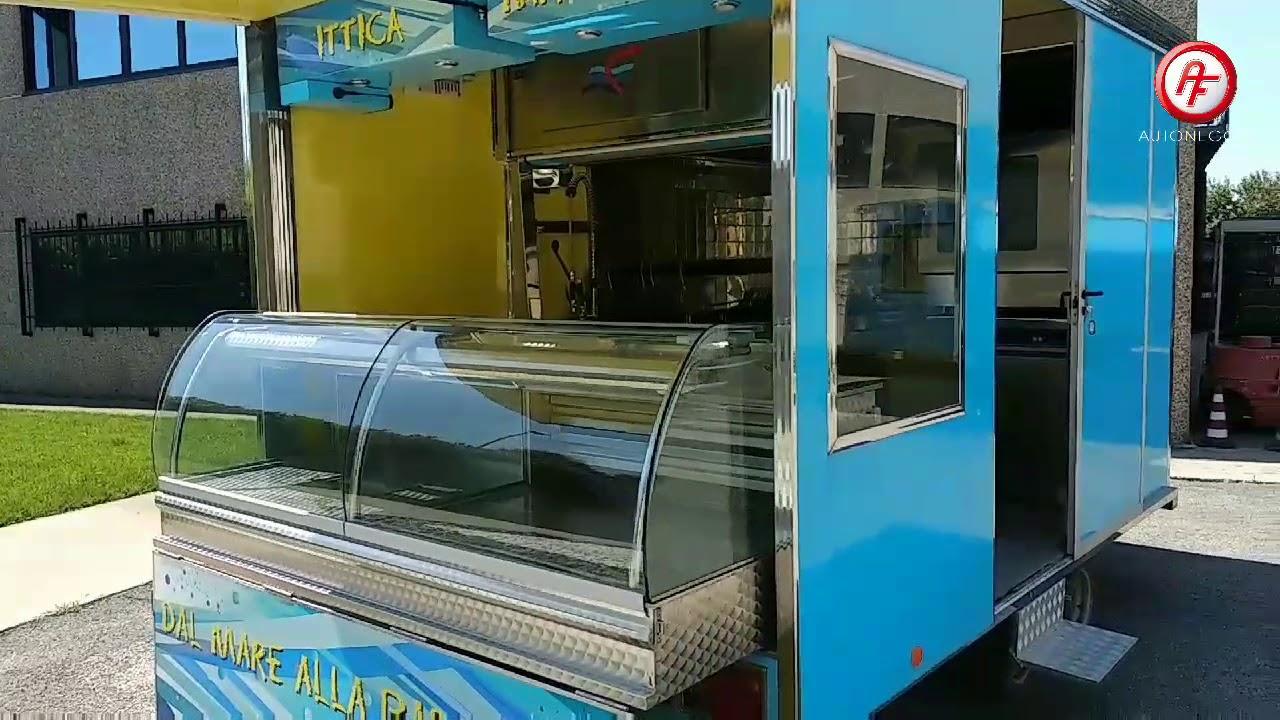 Rimorchio Pesante Usato - Cucina mobile per lo Street Food (usato 14)
