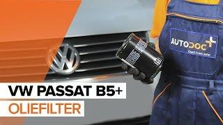Montering af Oliefilter VW PASSAT: videovejledning