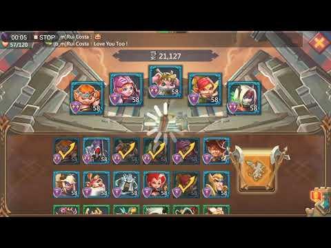 Lords Mobile: 6-15 Elite F2p 3 Stars