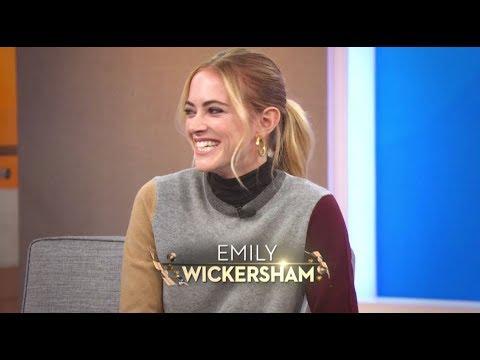 """N.C.I.S."" Emily Wickersham & 12-Year-Old Popping Animation Dancer"