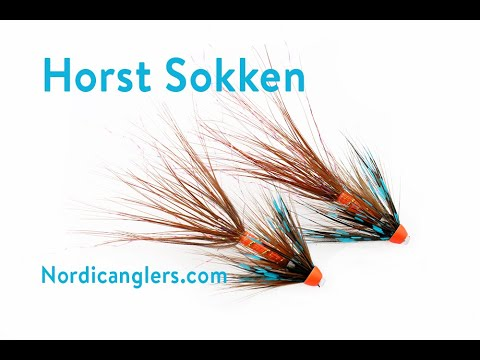 Fly Tying Instruction On How To Tie The Host Sokken Variant