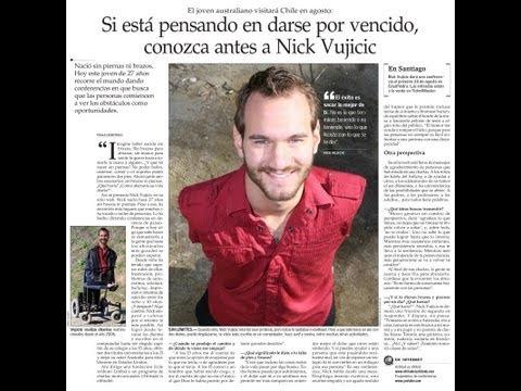 'Sin brazos, sin piernas (No arms, no legs)   Español (Spanish) Nicholas James Vujicic