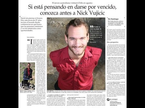 introduce nick vujicic Nick first visited serbia in 2012  another major benefit of nick's visit has been a means of introducing eus  nick vujicic, who was born in.