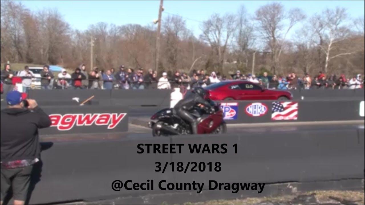 Street Wars 1 Import Vs Domestic Part 2 Cecil County Dragway Bracket Racing