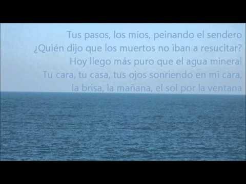 Facto delafé y las flores azules - Mar el poder del mar (Letra)
