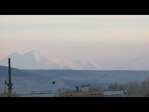 Эльбрус, закат. (Невинномысск - Эльбрус, 275 км). Canon Powershot SX170 IS Zoom