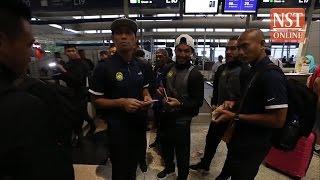 Harimau Malaysia squad heads to Yangon for AFF Suzuki Cup 2016