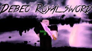 Roblox Script Showcase Episode#985/Debeo Royal Sword