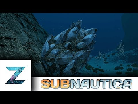 Subnautica - New bigger mineral outcrops!