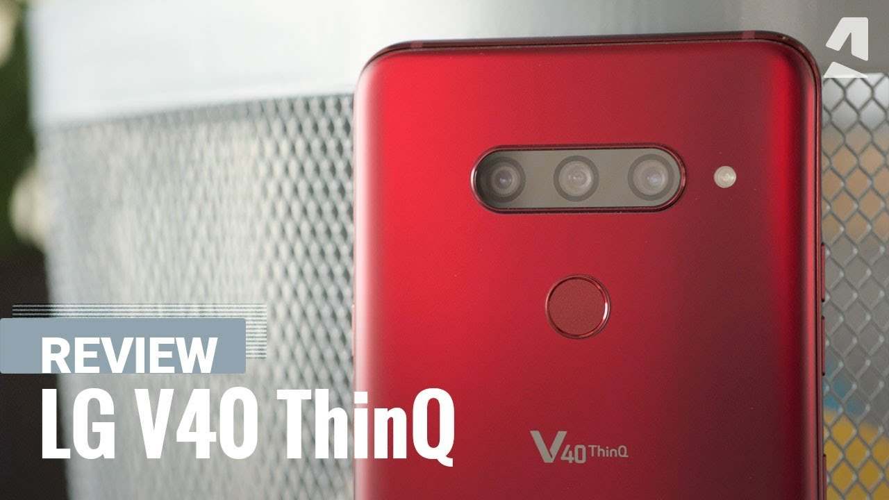LG V40 ThinQ - Full phone specifications