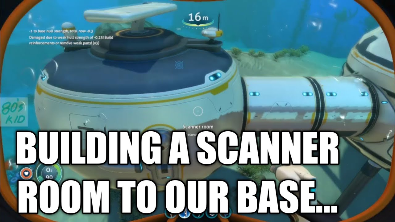 Building Scanner Room To Our Base Subnautica Gameplay Part 13 80s Kid Youtube If i add two more range upgrades do they stack with the existing one? youtube
