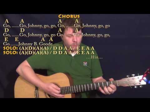 johnny-b.-goode-(chuck-berry)-strum-guitar-cover-lesson-in-a-with-chords/lyrics