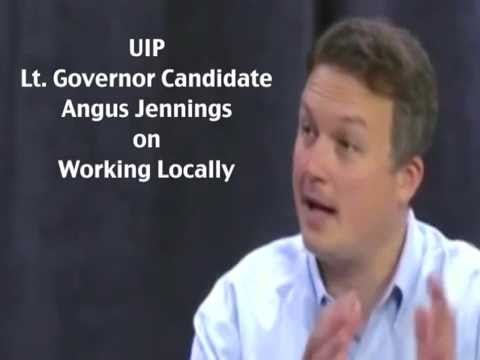 """Angus Jennings for Lieutenant Governor Commercial: """"Local"""""""