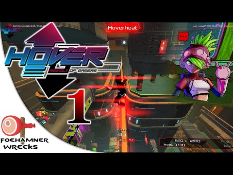 Hover: Revolt Of Gamers | Gameplay Part 1 | Learning to fly
