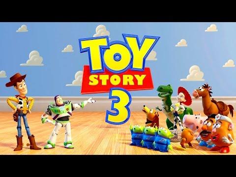 TOY STORY 3 Histoire de Jouets - Jeux Vidéo de Dessin Animé en Français pour les Enfants
