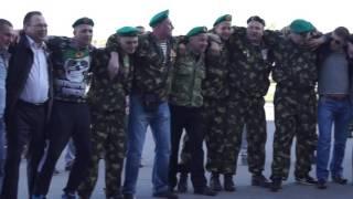 Город Северодвинск с пограничниками