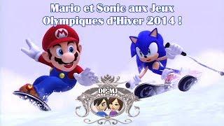 Mario & Sonic aux JO d'Hiver de Sotchi !