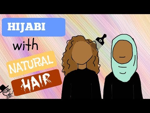 Tips When You're A Hijabi With Natural Hair / Astuces Pour Voilée Nappy (VOSTFR)
