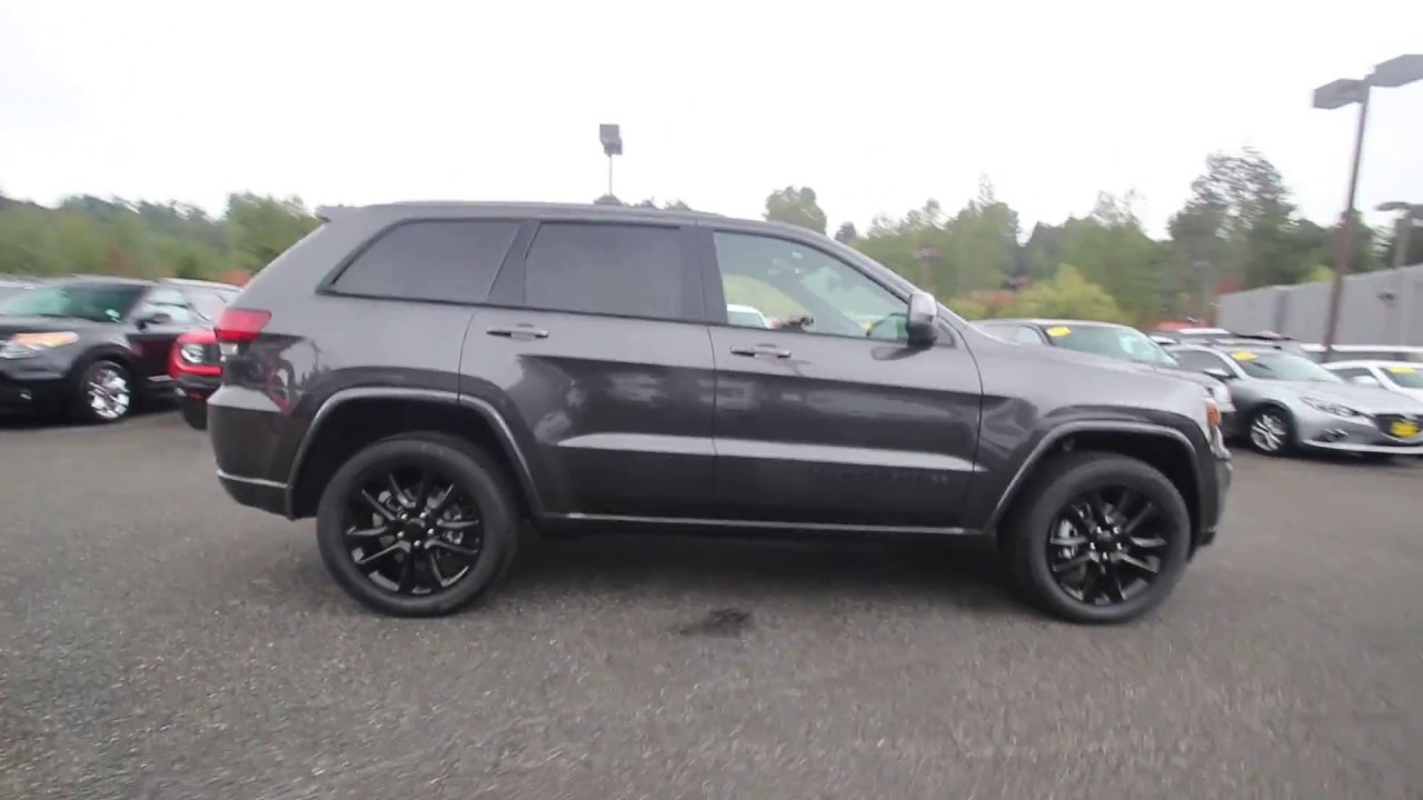 2018 Jeep Grand Cherokee 4x4 Altitude Granite Crystal