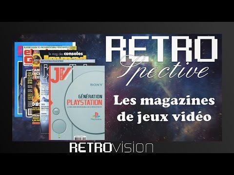 Historique des magazines de jeux vidéo - RETROspective