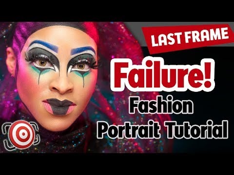 FAILURE - How to save a shoot - Fashion Portrait Tutorial