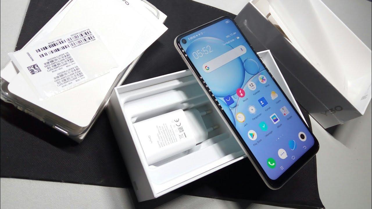 Unboxing handphone vivo y30 4/128gb - YouTube
