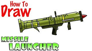 How to Draw the Missile Launcher | Fortnite