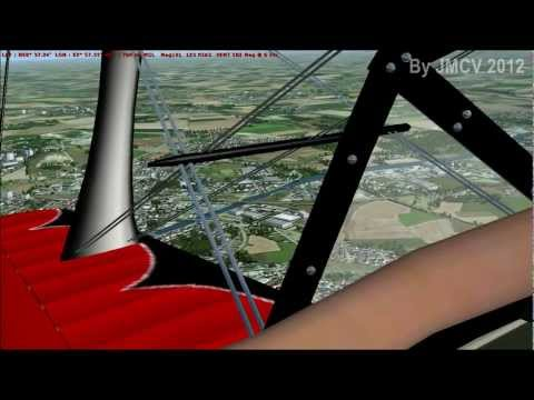 FSX - From Lens-Benifontaine to Lille-Lesquin - By JMCV 2012