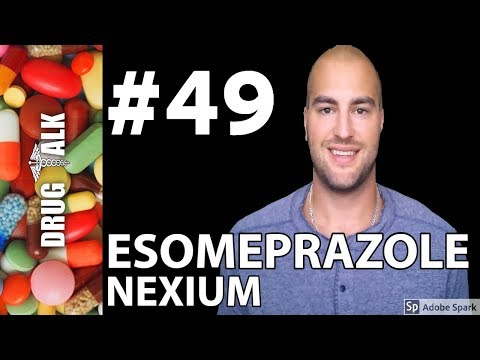 ESOMEPRAZOLE (NEXIUM) - PHARMACIST REVIEW - #49
