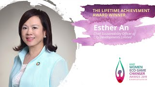 Esther An, Chief Sustainability Officer of CDL - 2019 GGEF Lifetime Achievement Award Winner