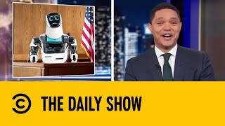 A Self-Driving Tesla's Heartless Hit and Run | The Daily Show With Trevor Noah