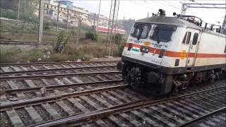 Entering New Delhi And Spoting Various Loco's And Trains.