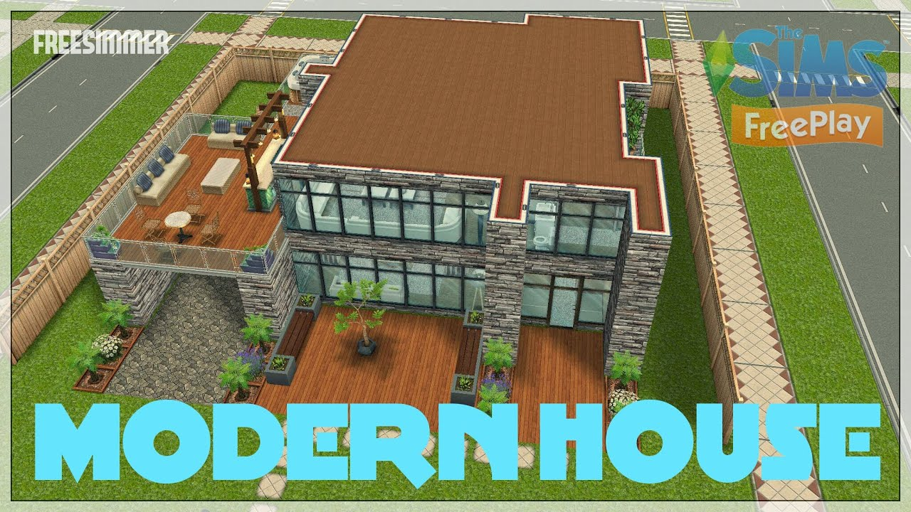 Excellent Sims House Plans Free Gallery Plan 3d House Goles Us