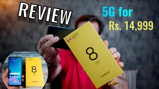 Realme 8 5G review - India's First MediaTek Dimensity 700 5G Smartphone