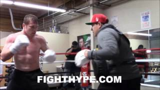 CANELO ALVAREZ'S DEFENSE GETTING BETTER AND BETTER; TRAINING NEW SKILLS FOR LIAM SMITH CLASH