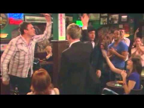 How I Met Your Mother   Ted Mosby BeatBox on Burbon Funny Drunk