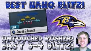"BEST BLITZ! 3-4 NANO BLITZ! ""BEST 3-4 BLITZ"" -- ""MADDEN 15 MONEY PLAY"""