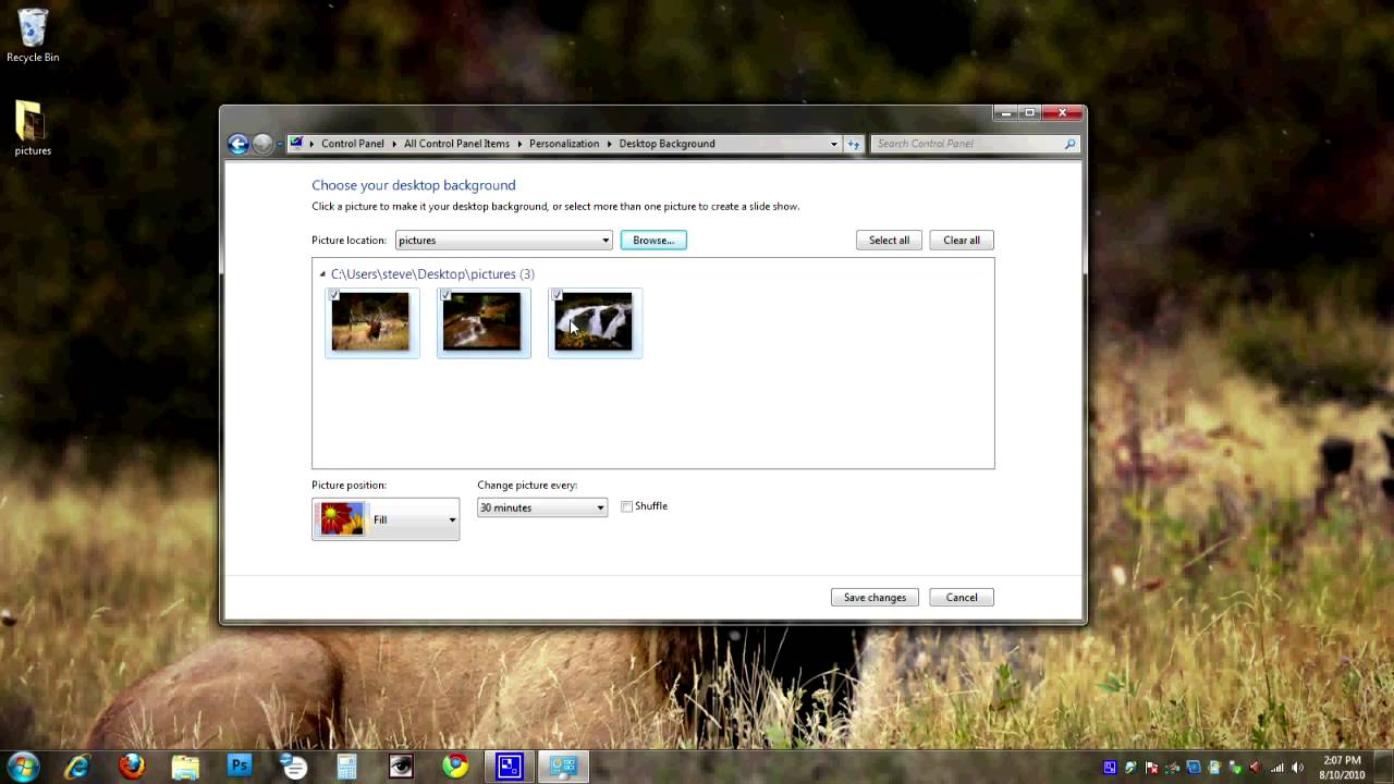 how to make a slideshow video on windows 8