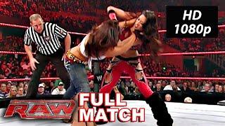 Melina vs Mickie James WWE Raw Oct. 1, 2007 Full Match HD
