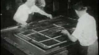 Letterpress Printing Vocational Film (1947)