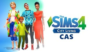 The Sims 4 City Living | FULL CAS Review (Hair, Clothes and Tattoos!)