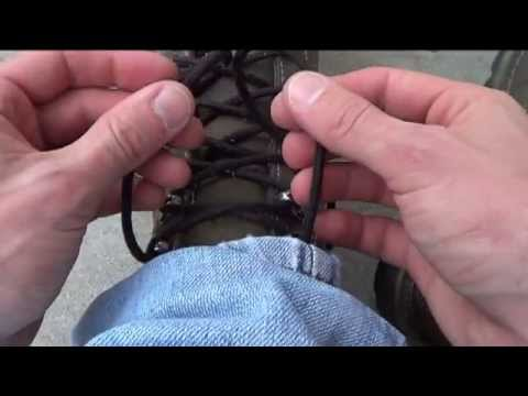How to Tie a Shoe so it Never Comes Untied or Undone