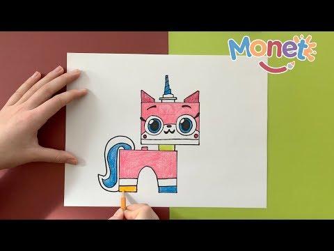 como-dibujar-a-unikitty!-de-lego,-la-película-/-how-to-draw-unikitty-from-lego-movie-2