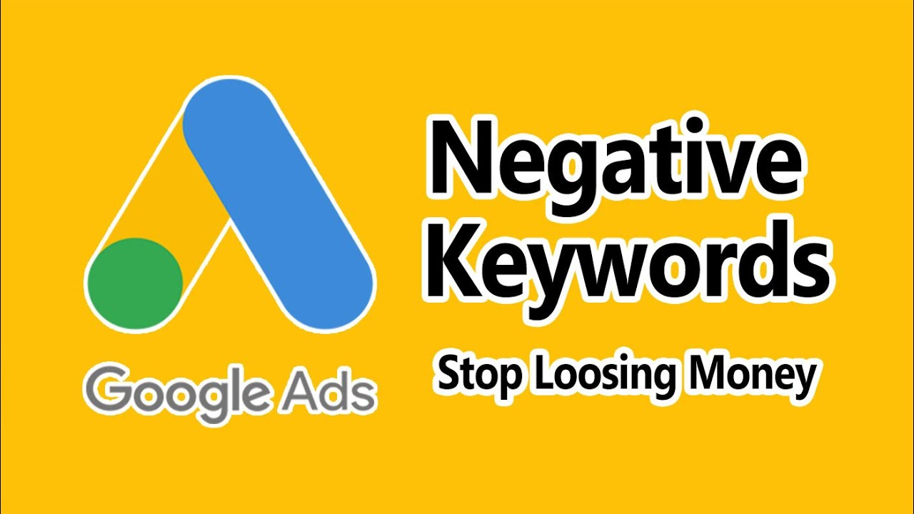 Image result for Use negative keywords