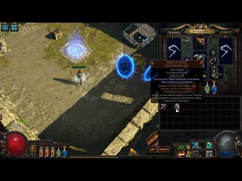 Path of Exile 3.0 - Unique 'Vaults of Atziri' Map - Tier 3.