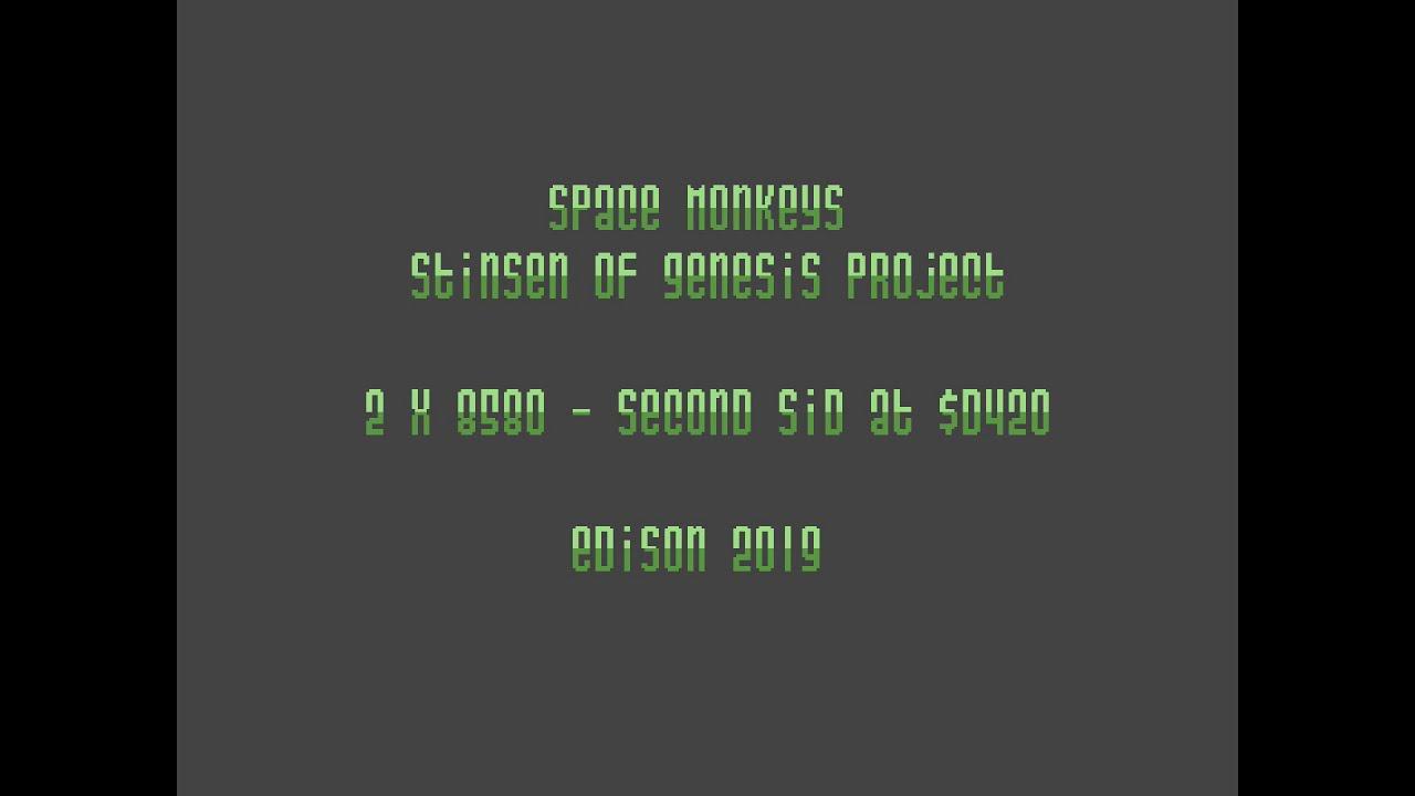 MiSTer (FPGA) Commodore 64: Space Monkeys [2xSID] [2019]