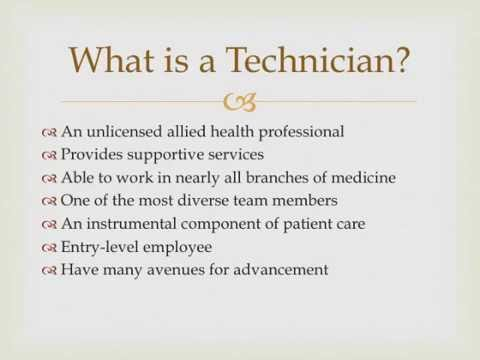 An Introduction To The Patient Care Technician Profession - Youtube