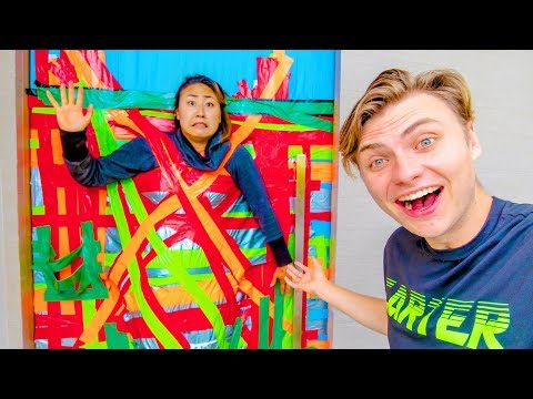 duct-taped-to-the-door-for-24-hours!!