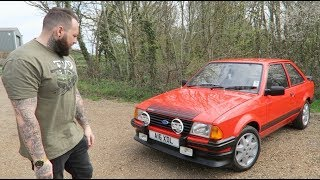 Collecting A Ford Escort RS1600i On Bike Carbs